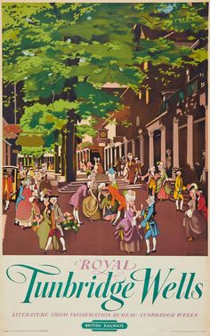 Royal Tunbridge Wells - British Railways - 1950's - (Dawson) -