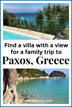 Paxos is a place for swimming, exploring secluded beaches and relaxing with family. Here's the lowdown on our villa with a view in Paxos, Greece #familytravel #greek-islands #familyholiday