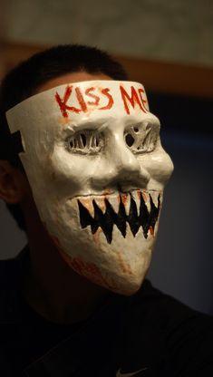 The Purge Film Mask Purge Kiss Me Mask Female Mask The Purge Anarchy Mask Horror Movie Mask Scary Movie Mask The Purge Halloween Mask