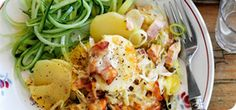 Cheesy ham and potato hash – Recipes – Slimming World. 4 syns each. Potato Hash Recipe, Potato Recipes, New Recipes, Healthy Recipes, Savoury Recipes, Pasta Recipes, Recipies, Favorite Recipes, Slimming World Dinners