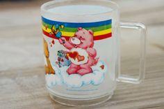 Vintage 80s Care Bear Mug Cup Retro Fantasy by SycamoreVintage