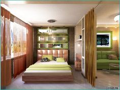 Дизайн студии 27 кв.м Beauty Room, Home, Small Apartments, Furniture, Small Condo, House, New Room, Interior Design, Living Spaces