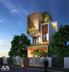 Ideas Exterior House Architecture Shipping Containers For 2019 Classic House Design, Modern House Design, Modern Townhouse, Modern Bungalow, 3 Storey House Design, Sims, House Design Pictures, House Elevation, Front Elevation