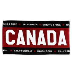 06c4d502 Show off your Canadian pride all summer long with this awesome Canada Beach  Towel! This