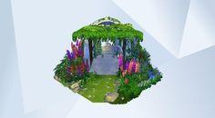 Sieh dir dieses Zimmer in der Die Sims 4-Galerie an! - #garden#outdoors#flowers#romantic#romanticgardenstuff#colorful#gartenaccessoires#garten#blumen#nocc#MOO#playtested