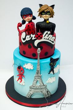 Lady Bug Cake by Soraia Amorim
