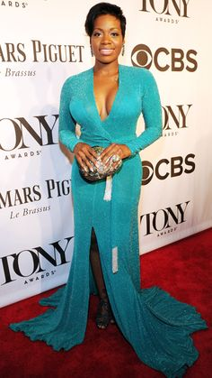 The Tony Awards 2014 Red Carpet Fashion - Fantasia Barrino from What a great fashion improvement! Black Celebrities, Celebs, Celebrity Crush, Celebrity Style, Best Dressed Award, Fantasia Barrino, Mermaid Gown, Red Carpet Looks, Celebrity Dresses