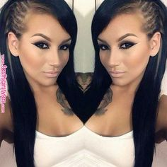 Long hair is beautiful and appealing, but the most important thing about long hair is that you must keep it in good shape to get pretty hairstyles. You should consider using hair products that are … Love Hair, Gorgeous Hair, Pretty Hairstyles, Braided Hairstyles, Hairstyle Ideas, Pinterest Hair, Hair Dos, Hair Hacks, Hair Inspiration