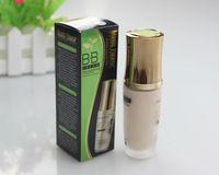 Nuevo 2014 Professinal crema BB Maquillaje Cine Fundación cosmética té verde desnuda cubierta Blanqueador Hidratante Piel Corrector 45ml