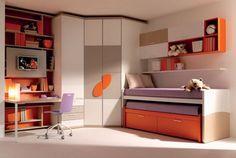 Modern Kids Bedroom Furniture Sets by Doimo CityLine Photo 7