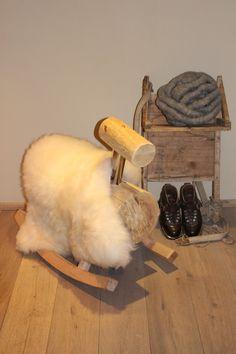 Schaukelschaf und Accessoires Toilet Paper, Sheep, Dekoration, Toilet Paper Roll