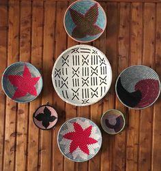 Best African Wall Baskets | African Basket | Woven Wall Baskets | Chri – Mama Zuri Style