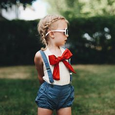 Happy of July to our US Laners! Aria is rocking her patriotic-inspired outfit. What's your Laner wearing this of July? Baby Girl Fashion, Toddler Fashion, Toddler Outfits, Kids Outfits, Kids Fashion, Patriotic Dresses, Patriotic Outfit, 4th Of July Photography, July Baby