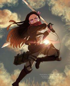 Read Kimetsu No Yaiba / Demon slayer full Manga chapters in English online! Otaku Anime, All Anime, Manga Anime, Anime Art, Demon Slayer, Slayer Anime, Fanarts Anime, Anime Characters, Japanese Anime Series