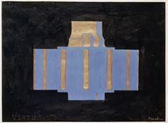 Francis Picabia, Vertu, vers 1915, Encre de Chine et gouache sur papier, 24,5 x 32,2 cm, Paris, Centre Pompidou.