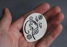 brooch by just Lotus, via Flickr