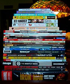 Insideman's Weekly Graphic Novel & Manga Stack 9.11.13!