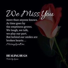 I miss you Mama , Daddy , Bubba & so many others more than I could possibly have thought imaginable! Miss You Daddy, Miss You Mom, Missing My Husband, Missing You So Much, Grief Poems, Grieving Quotes, Healing Hugs, We Missed You, After Life