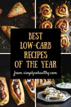 These are the best low-carb recipes from our blog for the year 2017. These recipes are perfect for low-carb, keto, Atkins, diabetic, gluten-free, sugar-free, and Banting diets.