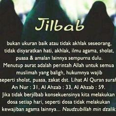 """eL di Instagram """"#wanitadalamislam"""" Reminder Quotes, Islam Quran, Niqab, Doa, Islamic Quotes, Allah, Muslim, Instagram, God"""