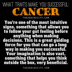 Traits of a cancer woman