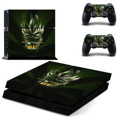Video Games & Consoles Skin Ps4 Slim Cannabis Bob Marley Limited Edition Decal Cover Playstation 4