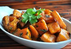 Oven-Roasted Squash with Garlic and Parsley — KidneyBuzz
