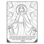 Catholic activity pages for children.- free downloads