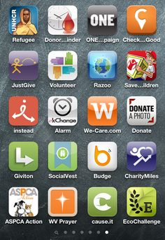 10 apps that support charity