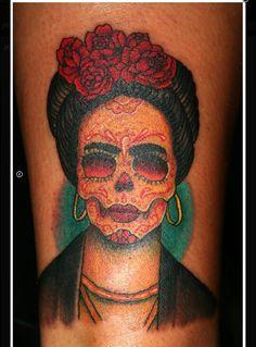 Frida kahlo sugar skull