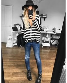 Chapeau #maisonmichel (old ) Pull Gaspard #eponymcreation sur @meleponym jean #aninebing (old) boots #givenchy @farfetch sac #chloe