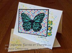 "Thinlits ""Papillons / Butterflies "" + Sale-A-Bration Project Life® Stampin'Up! Collection ""Quelle journée / This Day"" ... www.creationencreetpapier.com"