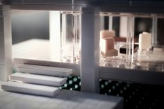 From Lego Architecture series : detail of the Farnsworth House designed by Ludwig Mies van der Rohe - 546 pieces, Lego model by architect Adam Reed Tucker