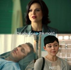 Regina, Mary Margret and David. Broke my heart/ :(