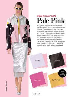 InStyle Color Crash Course-Pale Pink