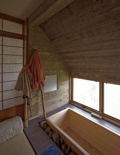 Japanese soaking tub at Bird Cloud