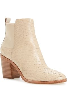 Swooning over this lofty block heel that brings a modern element to a classic…
