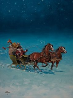 Christmas - The Old West Art of Jack Sorenson ☮ * ° ♥ ˚ℒℴѵℯ cjf