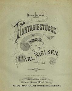 Nielsen, Carl : Fantasiestucke fur Oboe