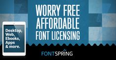Find more worry free fonts, web fonts, and app fonts at Fontspring similar to the Cantoni family by Debi Sementelli.