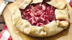 Use a gluten free crust for this...KILLER good! Grilling pie is easier than you think! This grilled strawberry pie is simply delicious.