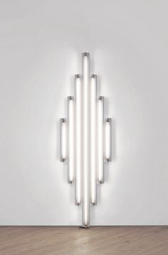 Dan Flavin. #Art #Light #Installation