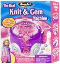 Girlz The Real Knit And Gem Machine by Mega Brands