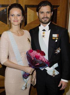 Los príncipes de Suecia, Carlos Felipe y Sofía, asistieron a un evento organizado por la Real Academia de Ingeniería de Suecia que entregaba sus Medallas de Oro en Estocolmo  © Gtresonline
