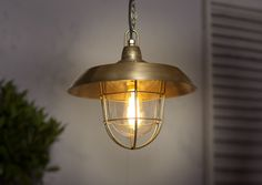Tilbury Lantern in Antiqued Brass