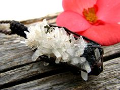 Unique gifts, Quartz cluster Crystal /  crystal cluster pendant ,  Healing crystals , crystal point pendant, gift for her, gift for wife