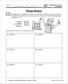 math worksheet : array worksheets  standards met visualizing multiplication  the  : Multiplication Arrays Worksheet