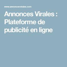Annonces Virales : Plateforme de publicité en ligne