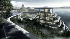 MAD ontwerpt nieuw dorp in Huangshan-bergen - architectenweb.nl