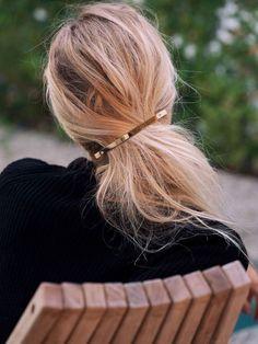 10 barrettes à cheveux minimales pour mettre du design dans vos cheveux
